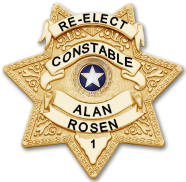 Re-Elect Alan Rosen for Constable